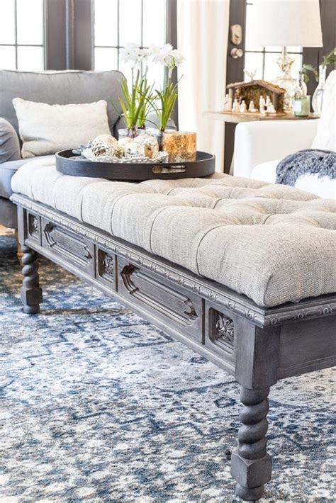 Diy-Coffee-Table-Repurposed-Ottoman