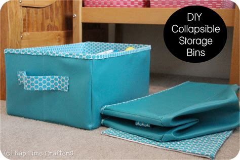 Diy-Collapsible-Storage-Box