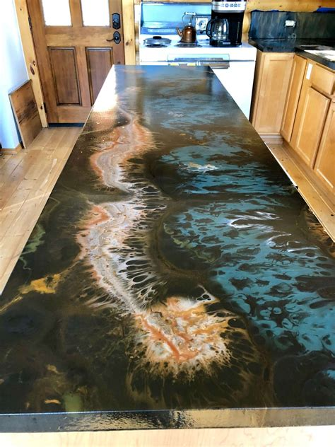 Diy-Color-Stained-Wood-Countertops-With-Epoxy