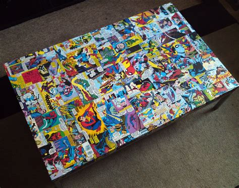 Diy-Comic-Book-Coffee-Table