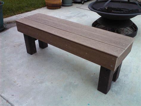 Diy-Composite-Bench