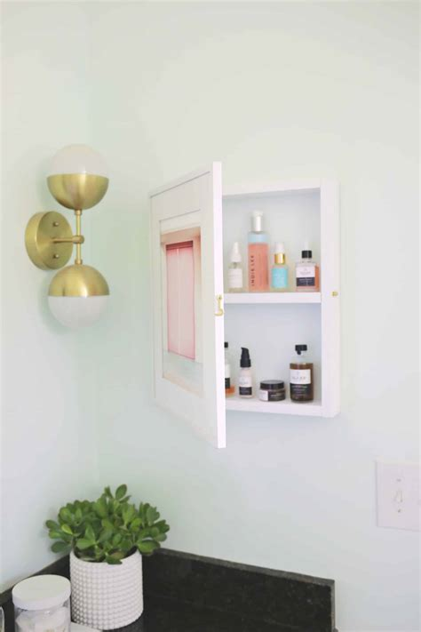 Diy-Concealed-Medicine-Cabinet