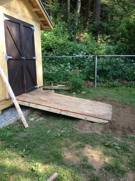 Diy-Concrete-Ramp-For-Shed