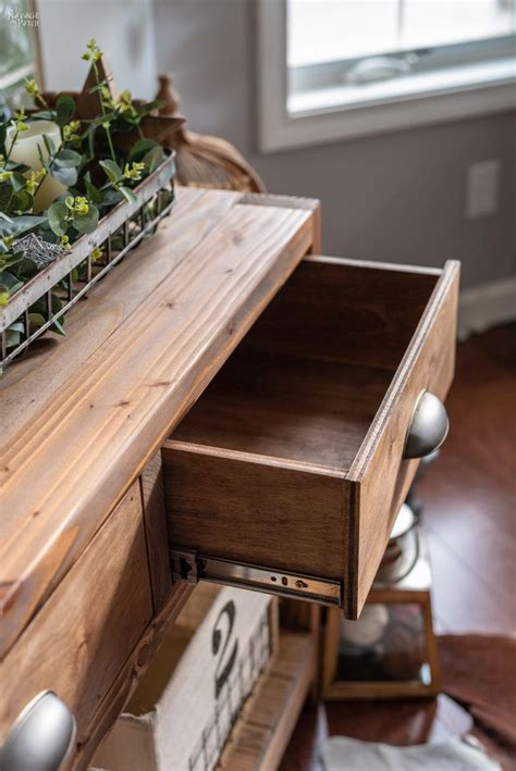 Diy-Console-Table-With-Drawers