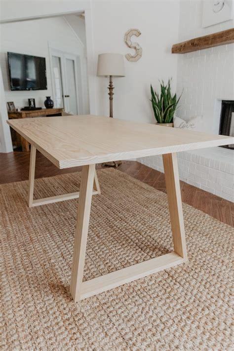 Diy-Contemporary-Dining-Table
