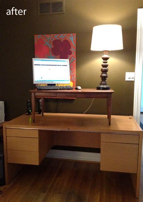 Diy-Convert-Desk-To-Standing-Desk