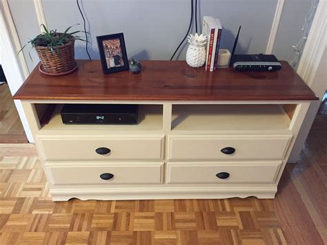 Diy-Convert-Dresser-To-Tv-Stand