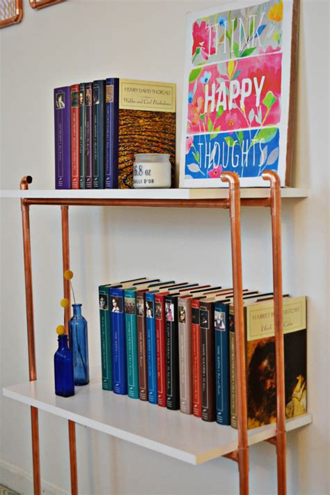 Diy-Copper-Bookshelf