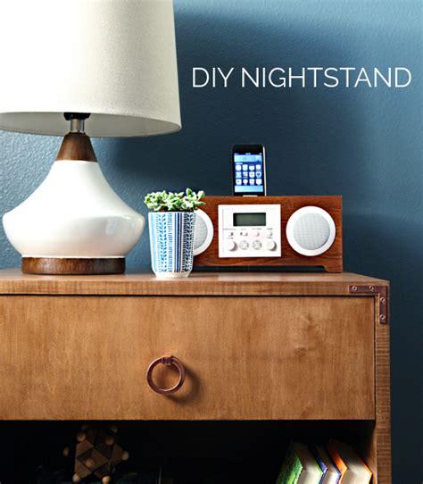 Diy-Copper-Nightstand