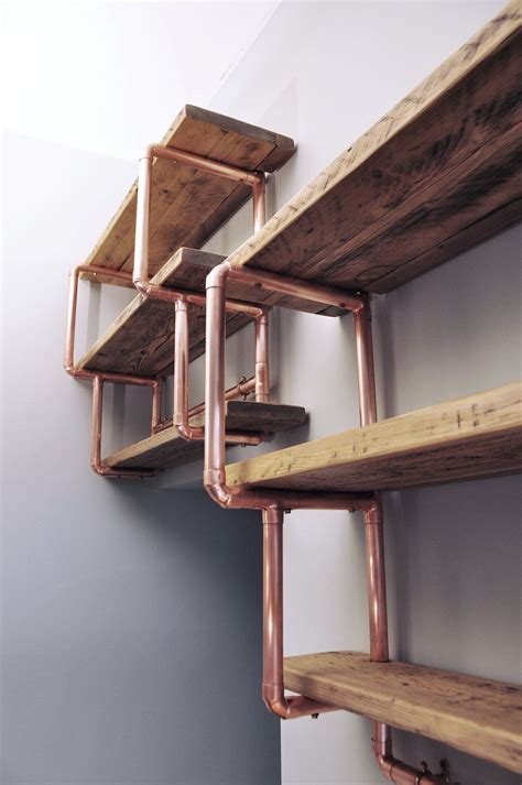 Diy-Copper-Pipe-Shelving-Unit