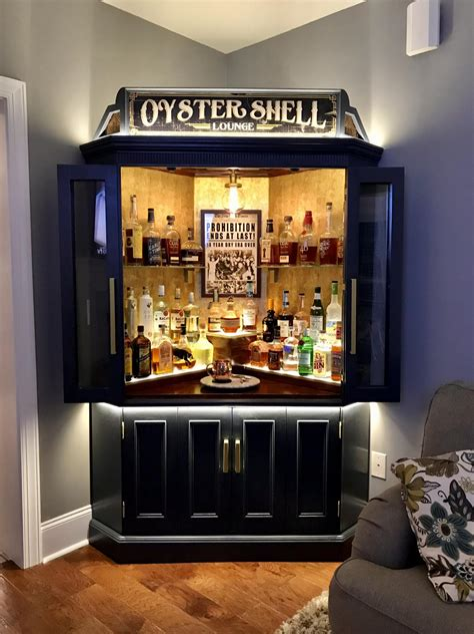 Diy-Corner-Bar-Cabinet