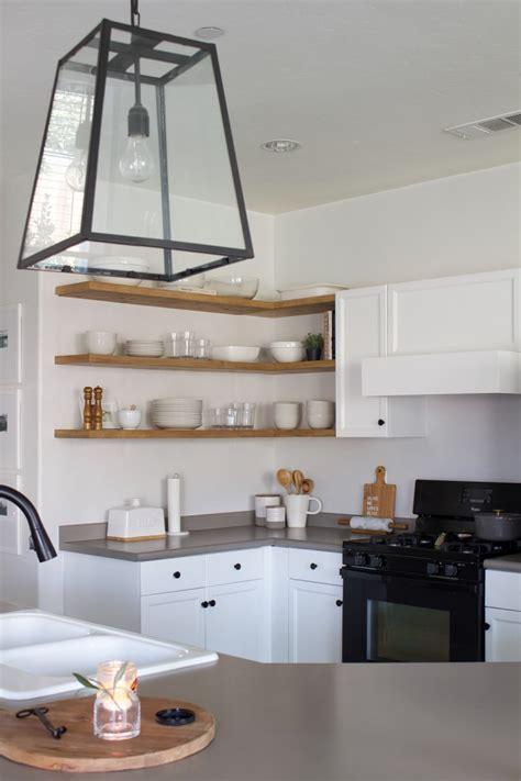Diy-Corner-Floating-Shelves-In-Kitchen
