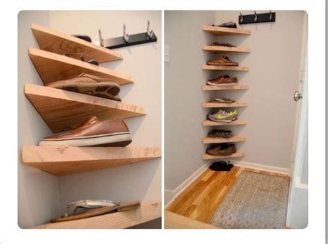 Diy-Corner-Shoe-Rack