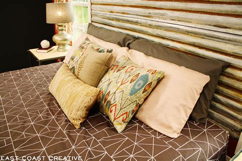 Diy-Corrugated-Metal-Headboard