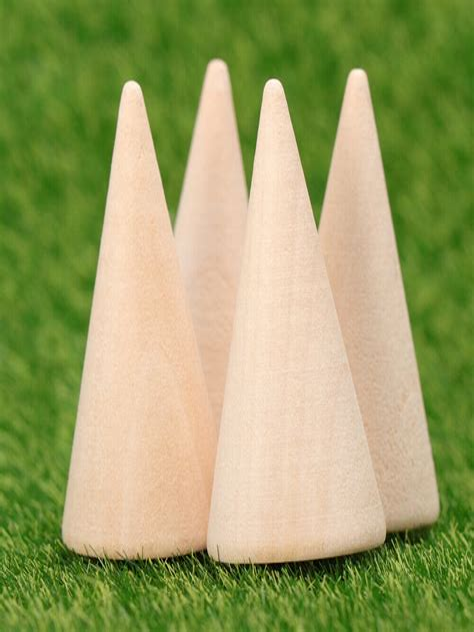 Diy-Craft-Wooden-Cones