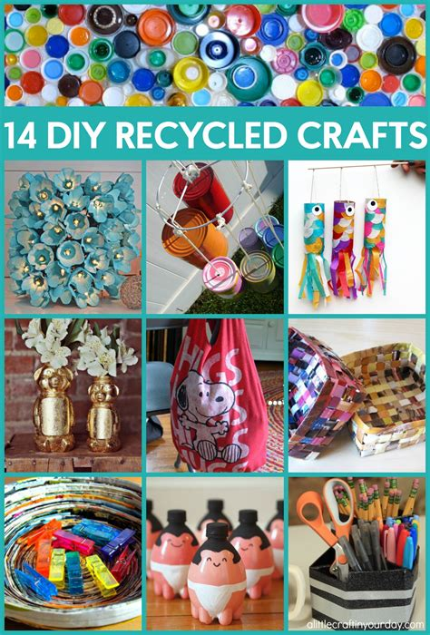 Diy-Crafts-From-Recycled-Materials