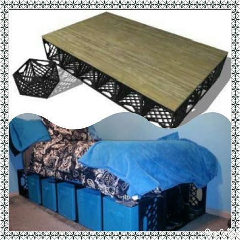 Diy-Crate-Bed-Base