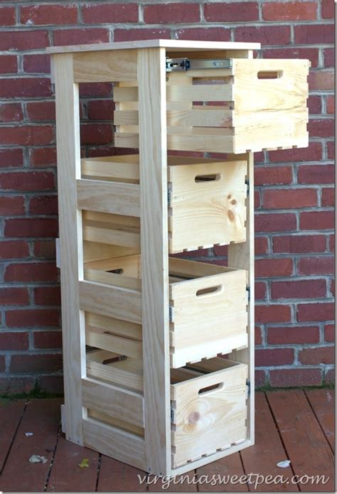 Diy-Crate-Cabinet-With-Sliding-Drawers