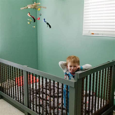 Diy-Crib-To-Toddler-Bed