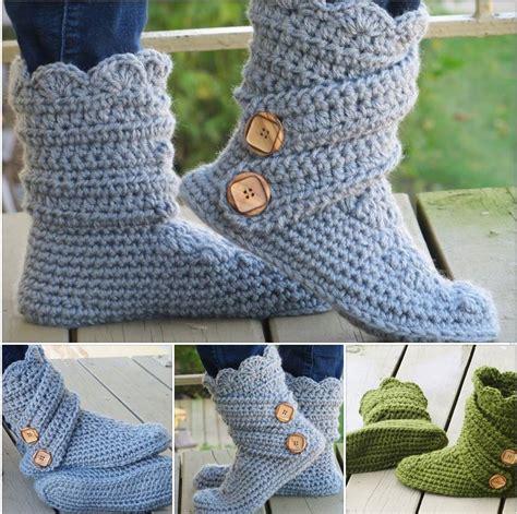 Diy-Crochet-Boots