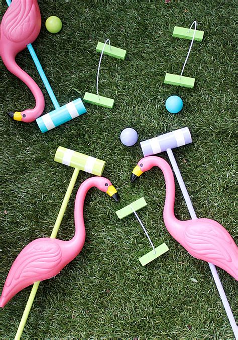 Diy-Croquet-Set