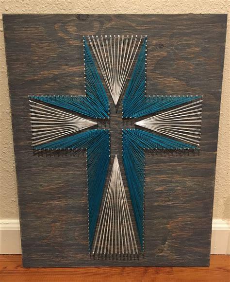 Diy-Cross-String-Art