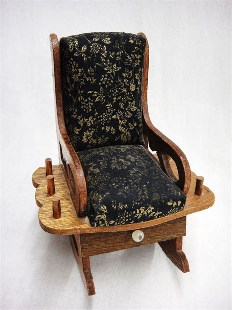 Diy-Cushions-For-Antique-Rocking-Chair