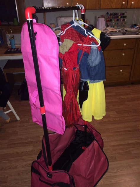 Diy-Dance-Bag-With-Garment-Rack