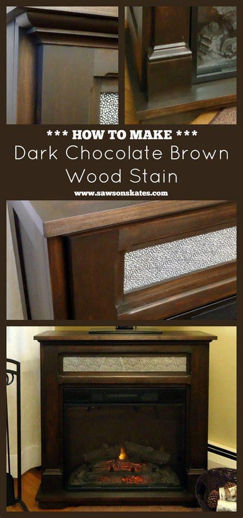 Diy-Dark-Brown-Wood-Stain