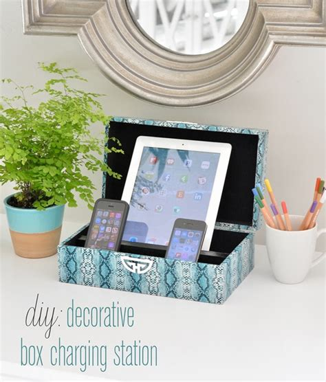 Diy-Decorative-Box-Charging-Station