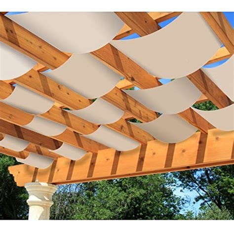Diy-Decorative-Pergola-Shade-Canopy-Set-Of-2
