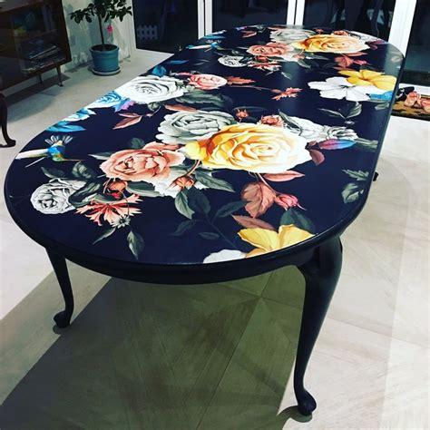 Diy-Decoupage-Dining-Table