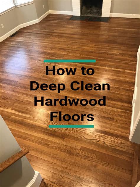 Diy-Deep-Clean-Wood-Floors