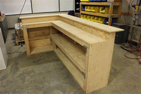 Diy-Desk-Bar-Free-Plans
