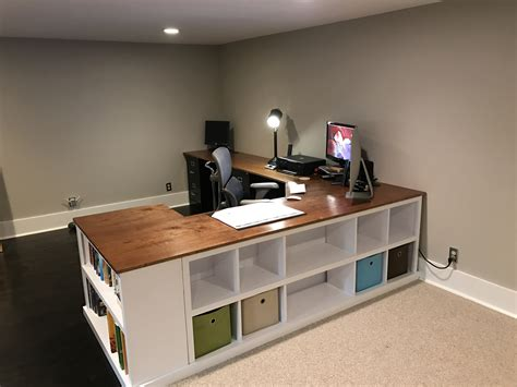 Diy-Desk-Bookshelf-Combo