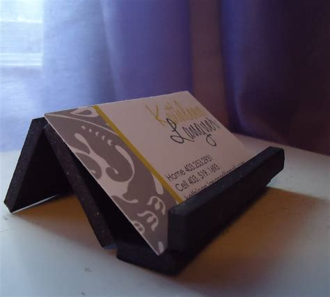 Diy-Desk-Business-Card-Holder