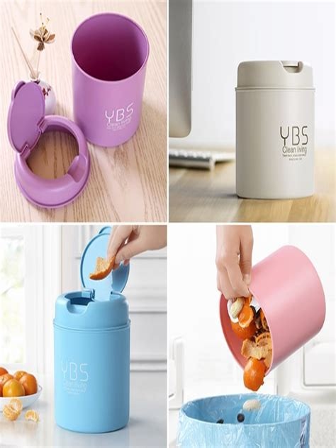 Diy-Desk-Trash-Bin