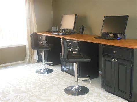 Diy-Desk-With-Countertop-And-Cabinets
