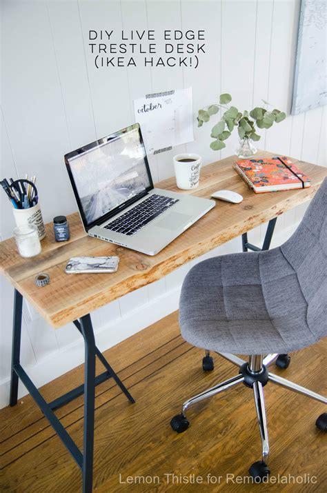 Diy-Desk-With-Ikea-Trestle