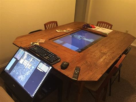 Diy-Digital-Gaming-Table