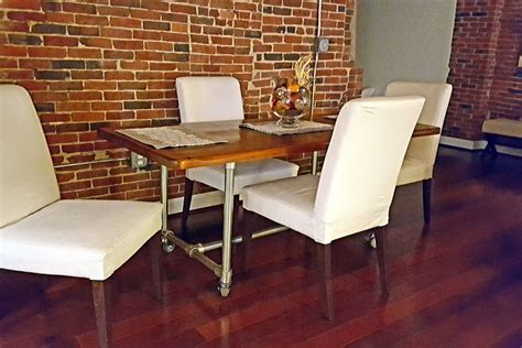 Diy-Dining-Room-Table-Pipe