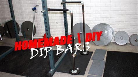 Diy-Dip-Bar-For-Power-Rack