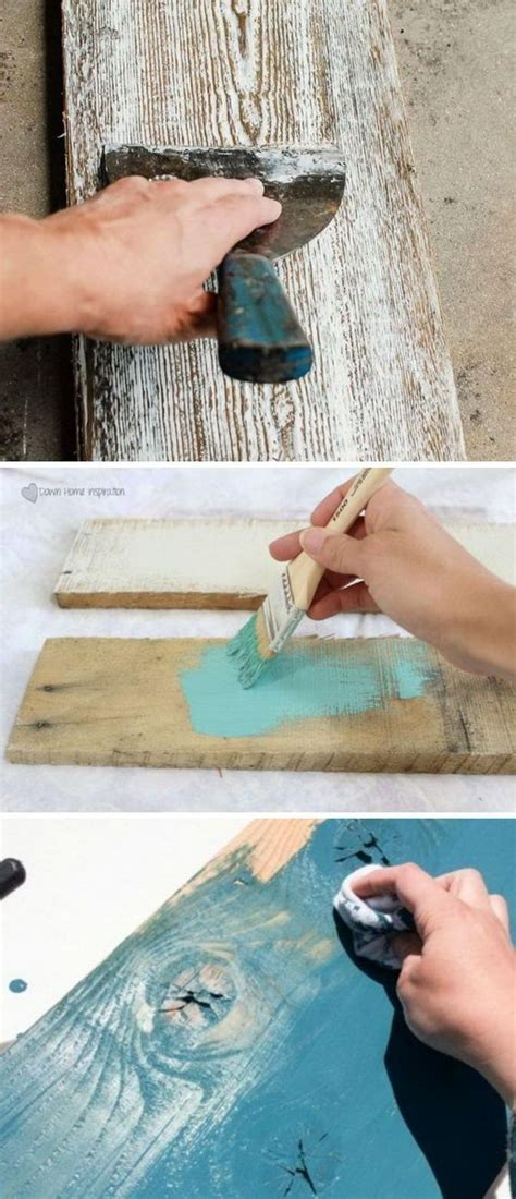 Diy-Distressed-Wood-Finish