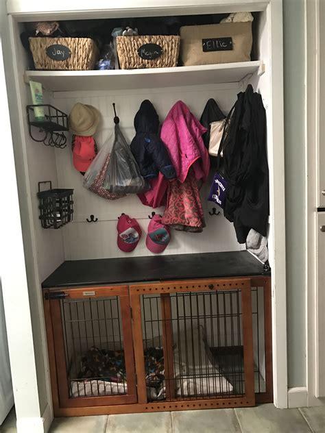 Diy-Dog-Crate-In-Closet