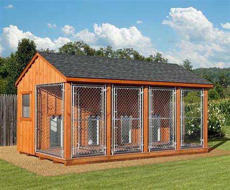 Diy-Dog-Kennel-And-Run-Plans