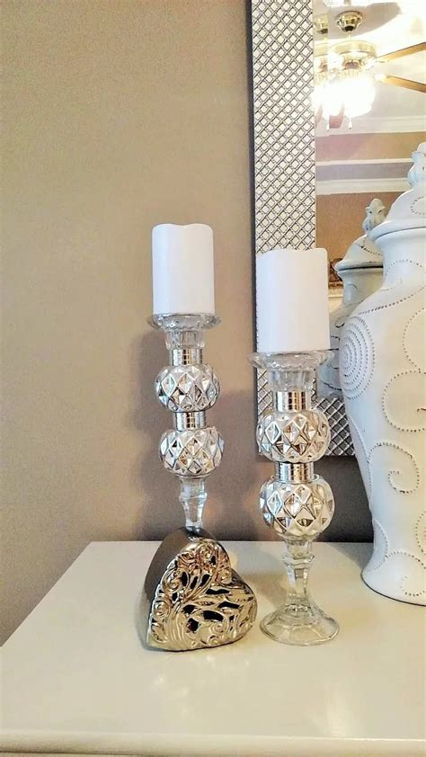 Diy-Dollar-Tree-Candle-Holders