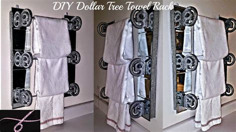 Diy-Dollar-Tree-Towel-Rack