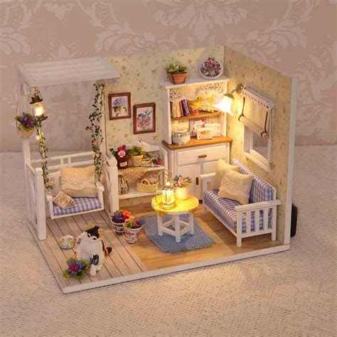 Diy-Dollhouse-Furniture-Kit