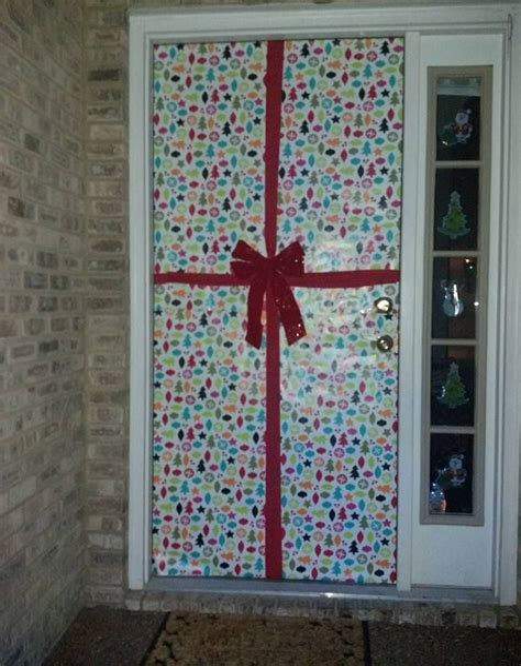 Diy-Door-Cover-Wrapping-Paper