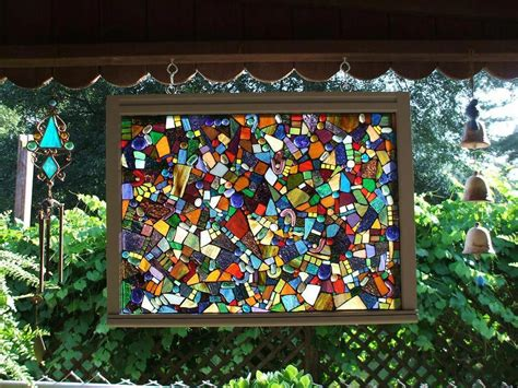 Diy-Door-Glass-Mosaics